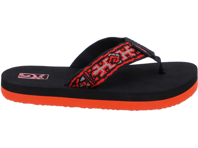 51657bf422d2a5 Teva Mush II Sandals Children red black at Addnature.co.uk